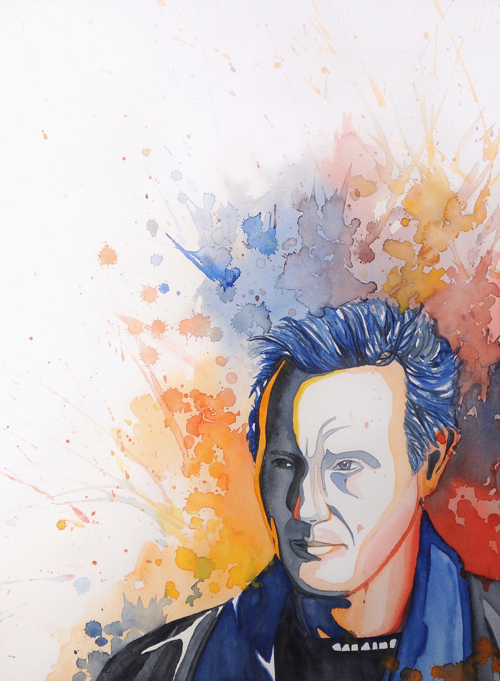 Portrait of Liam Neeson