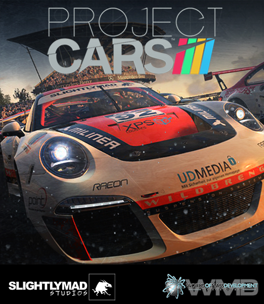 Poster Design  Another personal project. This time trying to create a poster that can be used for Project CARS.   Project CARS