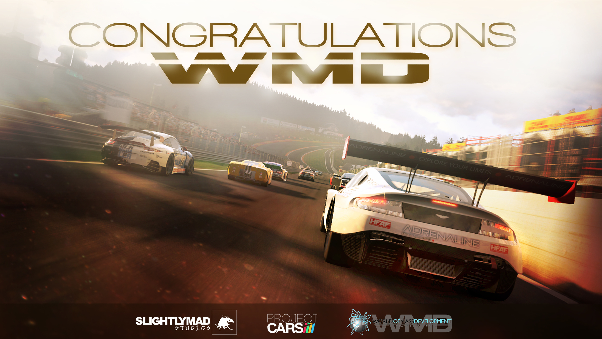Celebrating Project CARS going gold   Project CARS