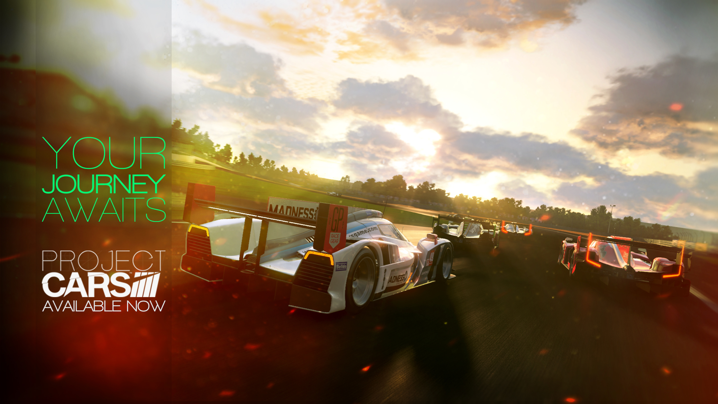 Ad created to help promote the launch of Project CARS   Project CARS