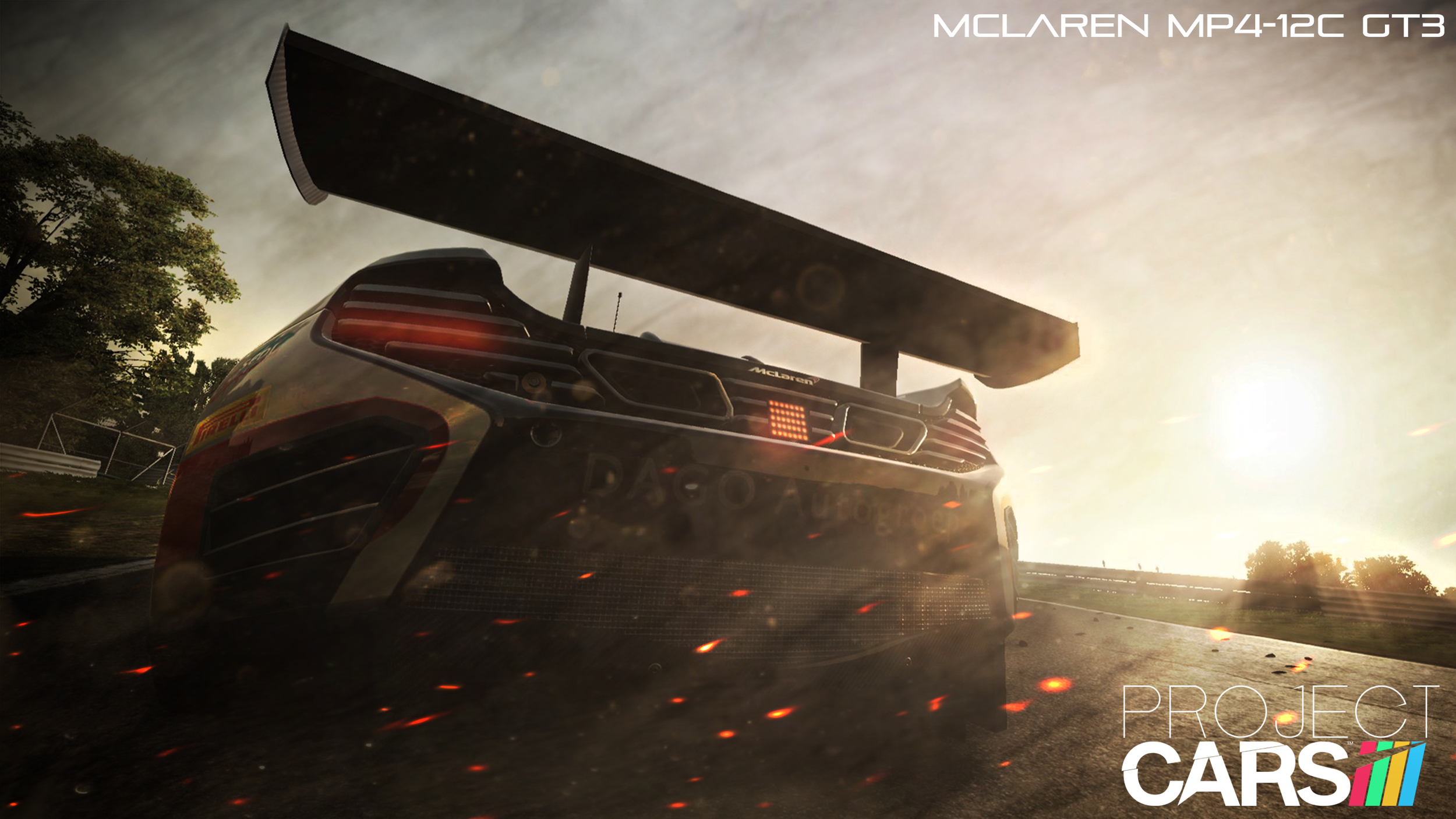 Edited screenshot for Project CARS   Project CARS