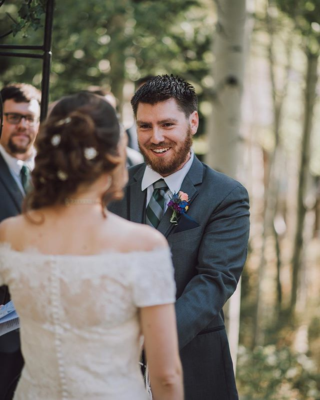 I really love this photo. I love the happiness and emotion on Ethan's face. You can tell he truly loves Lucie. Moments like these make all the hard work of wedding photography worth it.