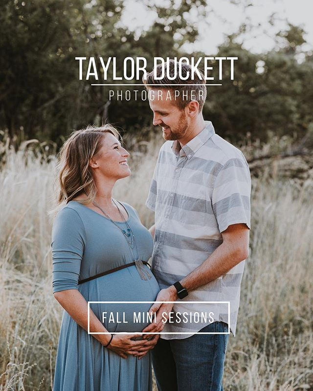 I still have some spots for family photos this fall! The weather is still nice. Fall mini sessions include 30 minutes of shooting and 20+ photos for $140. Details on my website (link in profile).