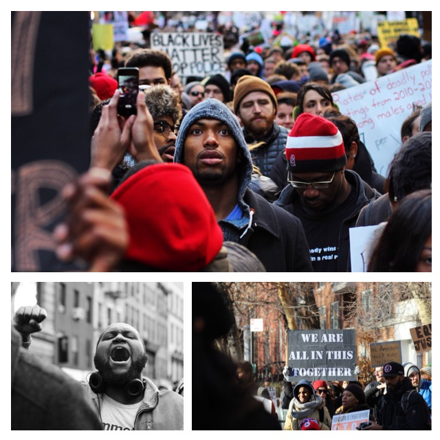 Million March NYC 2014 for CGP series
