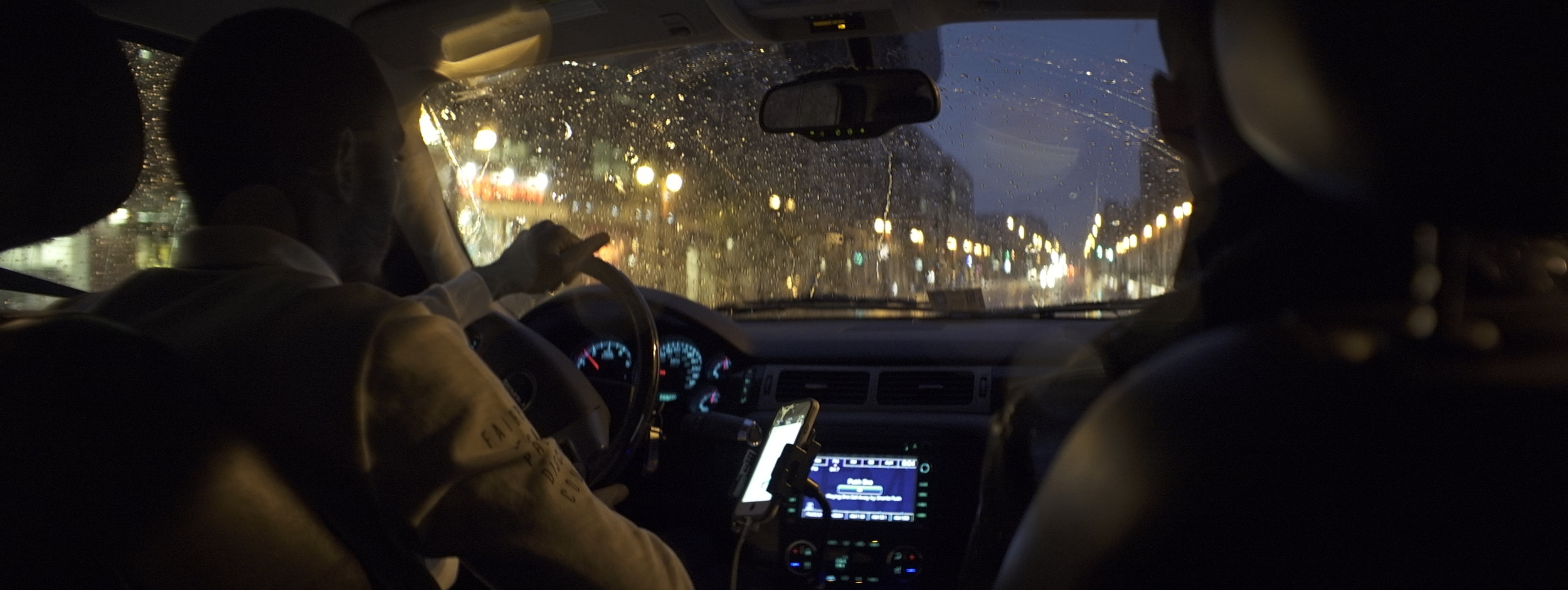 Elite 24.5mm anamorphic | Washington D.C. - Our friendly Uber driver in Washington D.C. This is a great example of what can be achieved for car interiors with this lens. T2.1. Photo by Keith Nickoson.