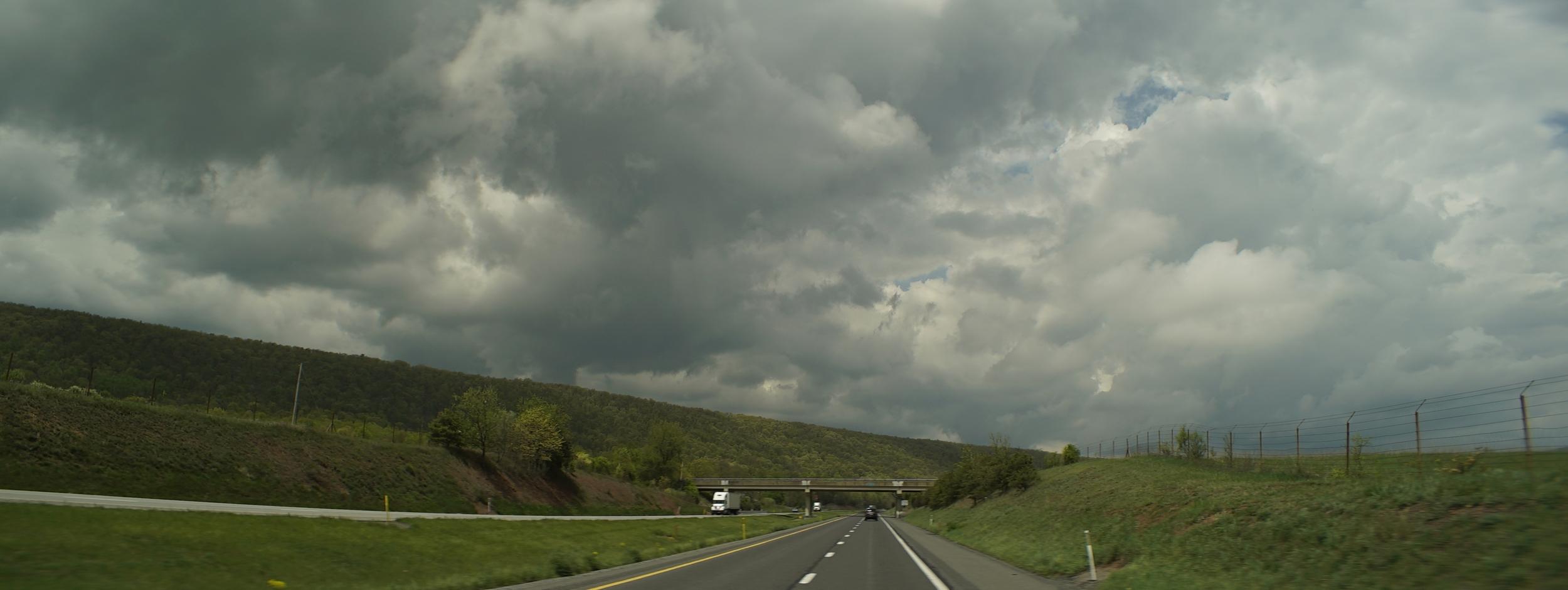 Elite 24.5mm anamorphic | Pennsylvania Highway - T4.0. Photo by Keith Nickoson.