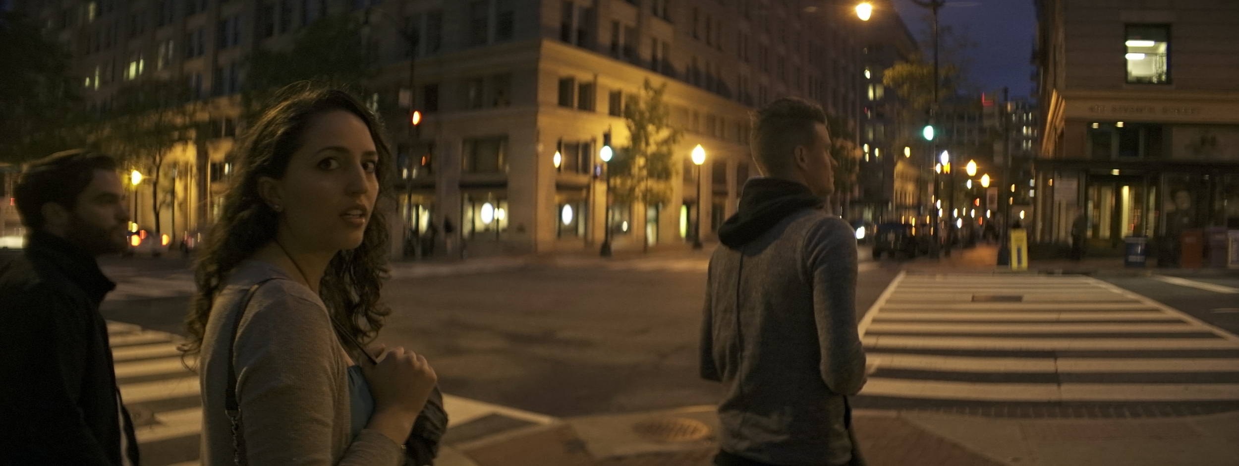 Elite 24.5mm anamorphic | Washington D.C. - A close-focus perspective on a street corner in Washington D.C. T2.1. Photo by Keith Nickoson.
