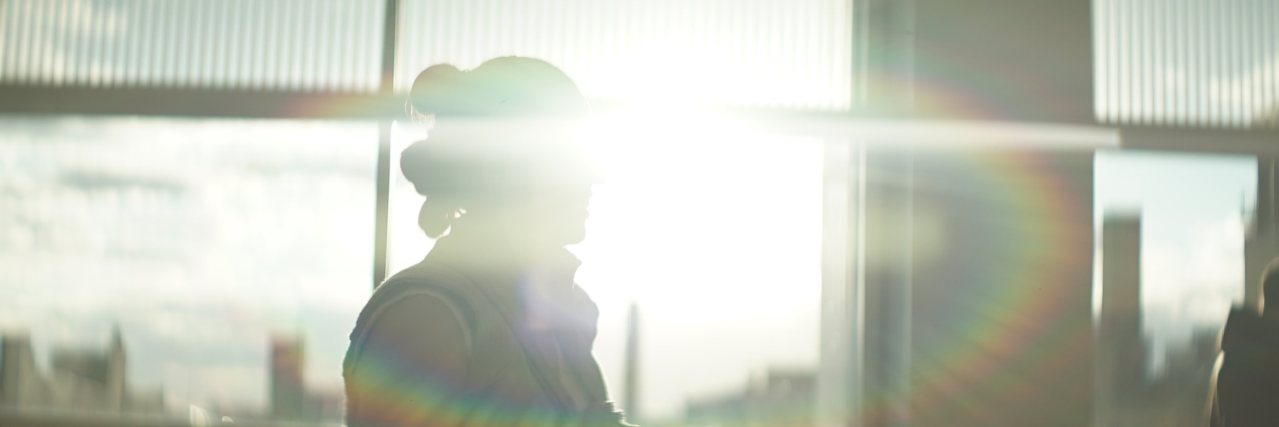 Lomo 75mm Anamorphic Lens | Star Wars Celebration Chicago - SWCC | Olivia dressed as Resistance Rey is overtaken by a giant sun flare. T2.4 - Photo by: Keith Nickoson