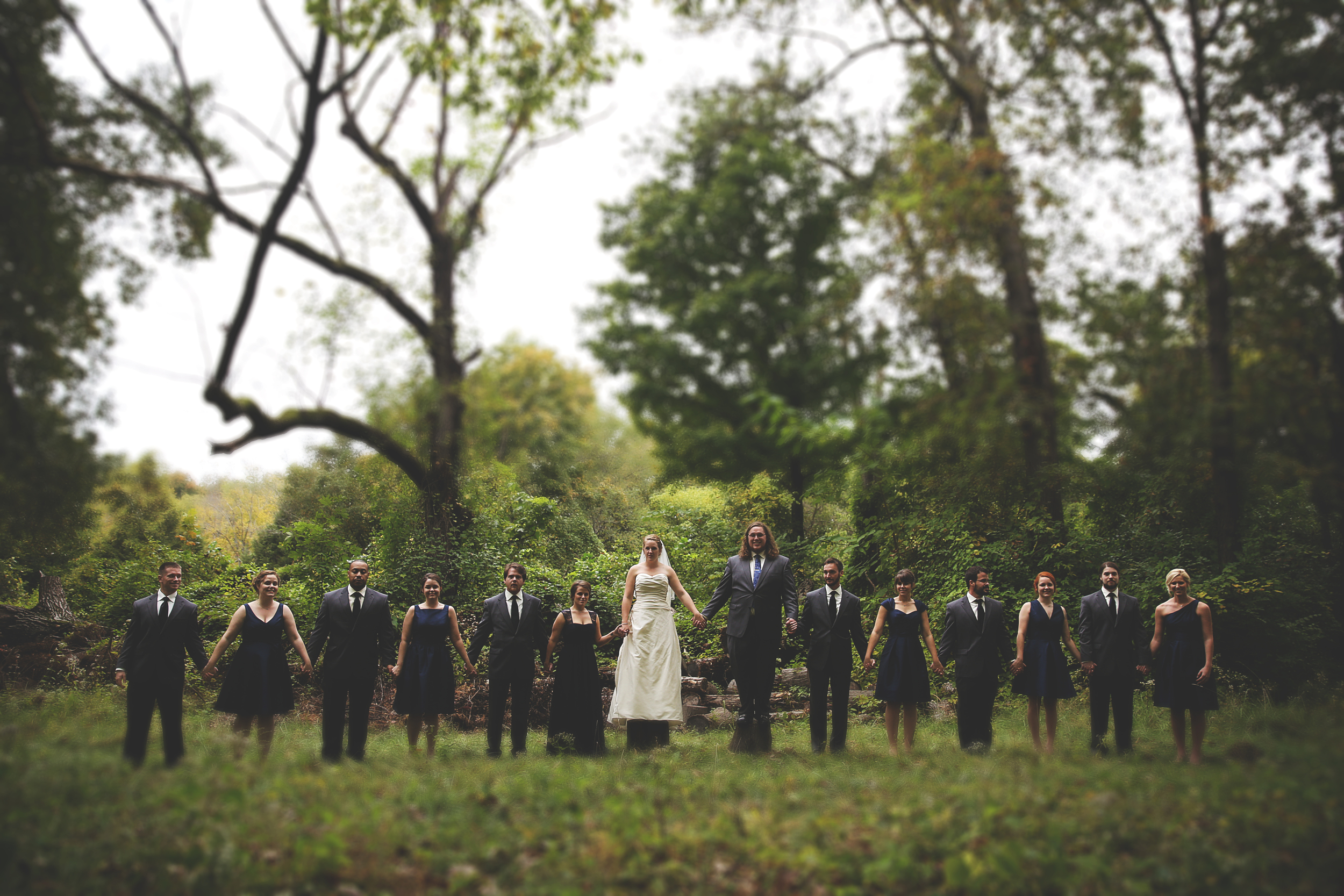 in the woods cherokee park louisville wedding photographer