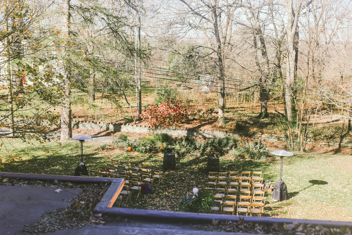 ceremony at holly hill inn midway kentucky