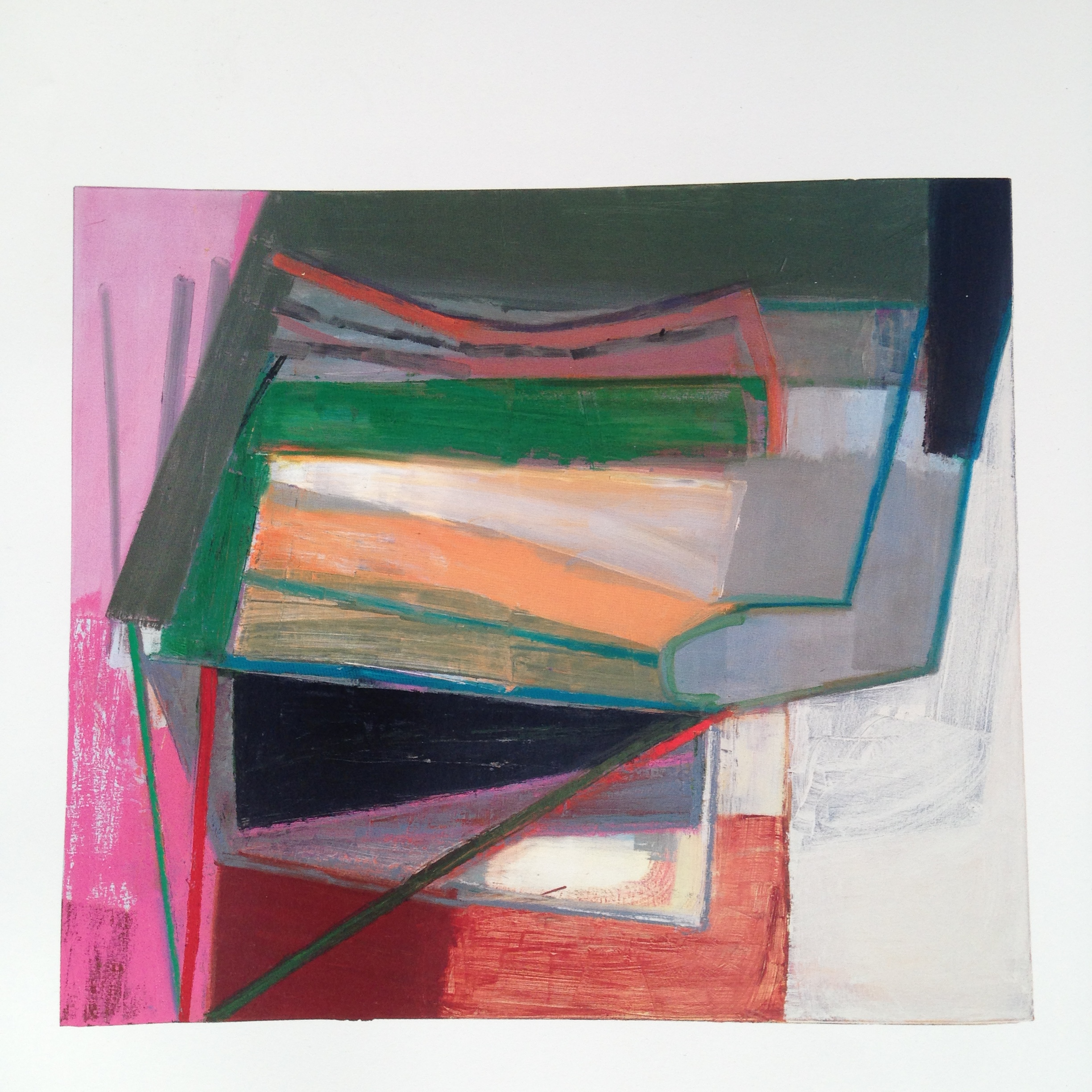 Discovering American artist  Amy Sillman  was like finding a piece of chocolate on my desk around 3 o'clock slump time!So exciting! I was immediately attracted to her work for its extraordinary use of colour and form. Quite beautiful stuff which left me feeling quite inspired. Here are a couple more of hers...