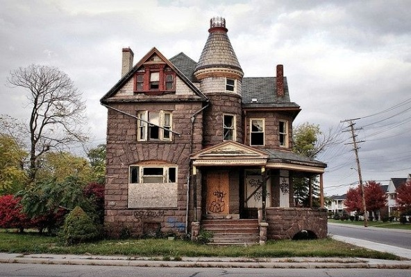 Located in Detroit