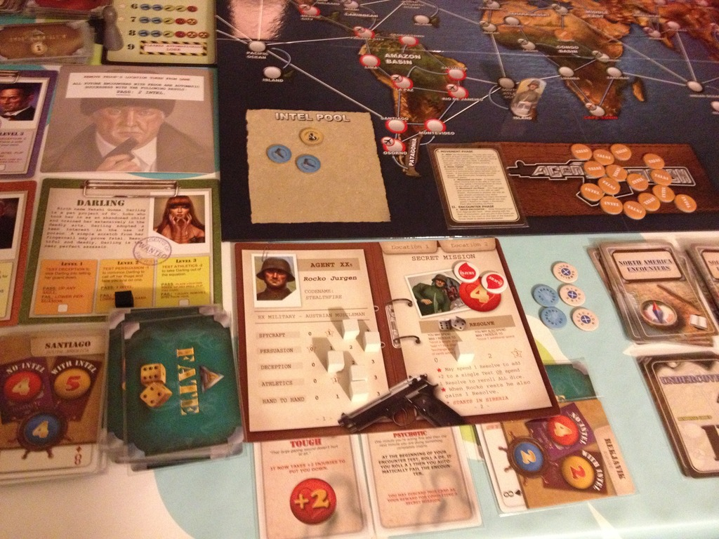 Agents of SMERSH  attempts to capture a similar vein of super-spies and mad scientists with a  Tales of the Arabian Nights -esque storytelling focus, but even more intense confrontations between players can be arranged with less intel, reference sheets, and book-keeping. ( Anker The m80 Hobbit )