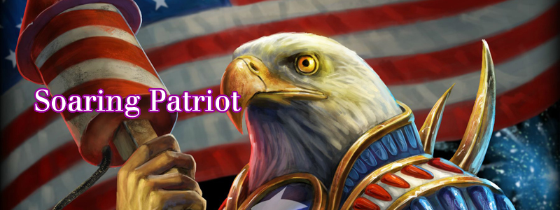 Soaring Patriot ( Ra-Merica Official Skin  by  PTimm )