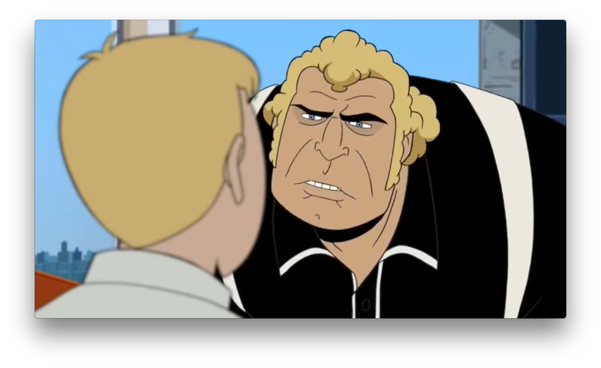 Brock and Hank get in some of their standard, memorable back-and-forths again, by the looks of it.