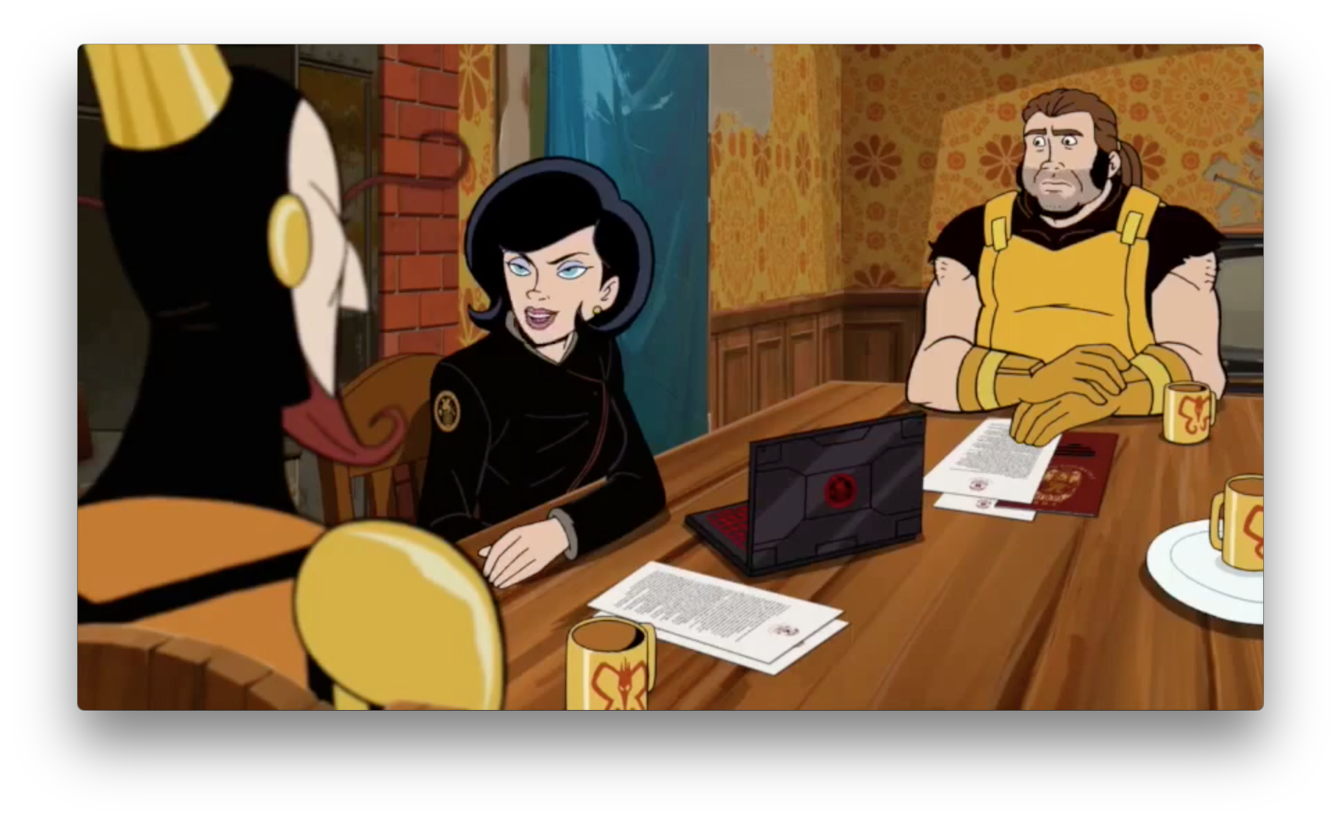 Dr. Mrs. The Monarch tries to bring The Monarch and his crew further into The Guild, and help him work his way up.