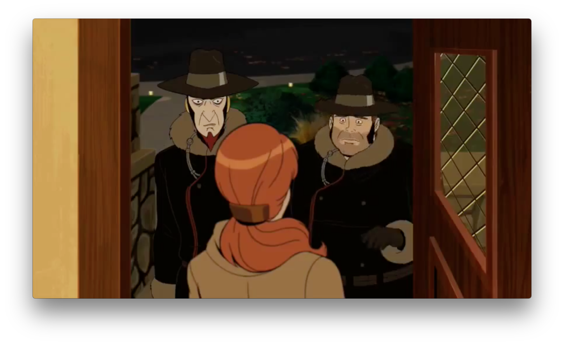 But The Monarch and Gary still have to work as Guild Strangers.Or are they undercover? Who are they visiting?