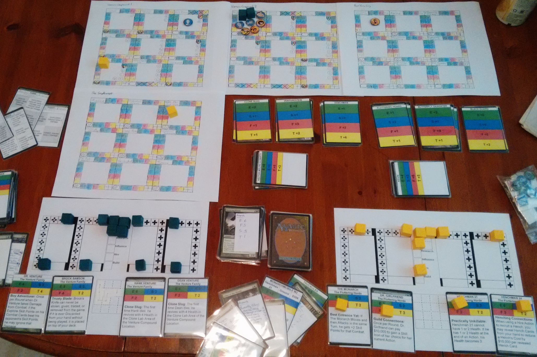 Just testing systems with a mix of many older, and some newer, ideas.