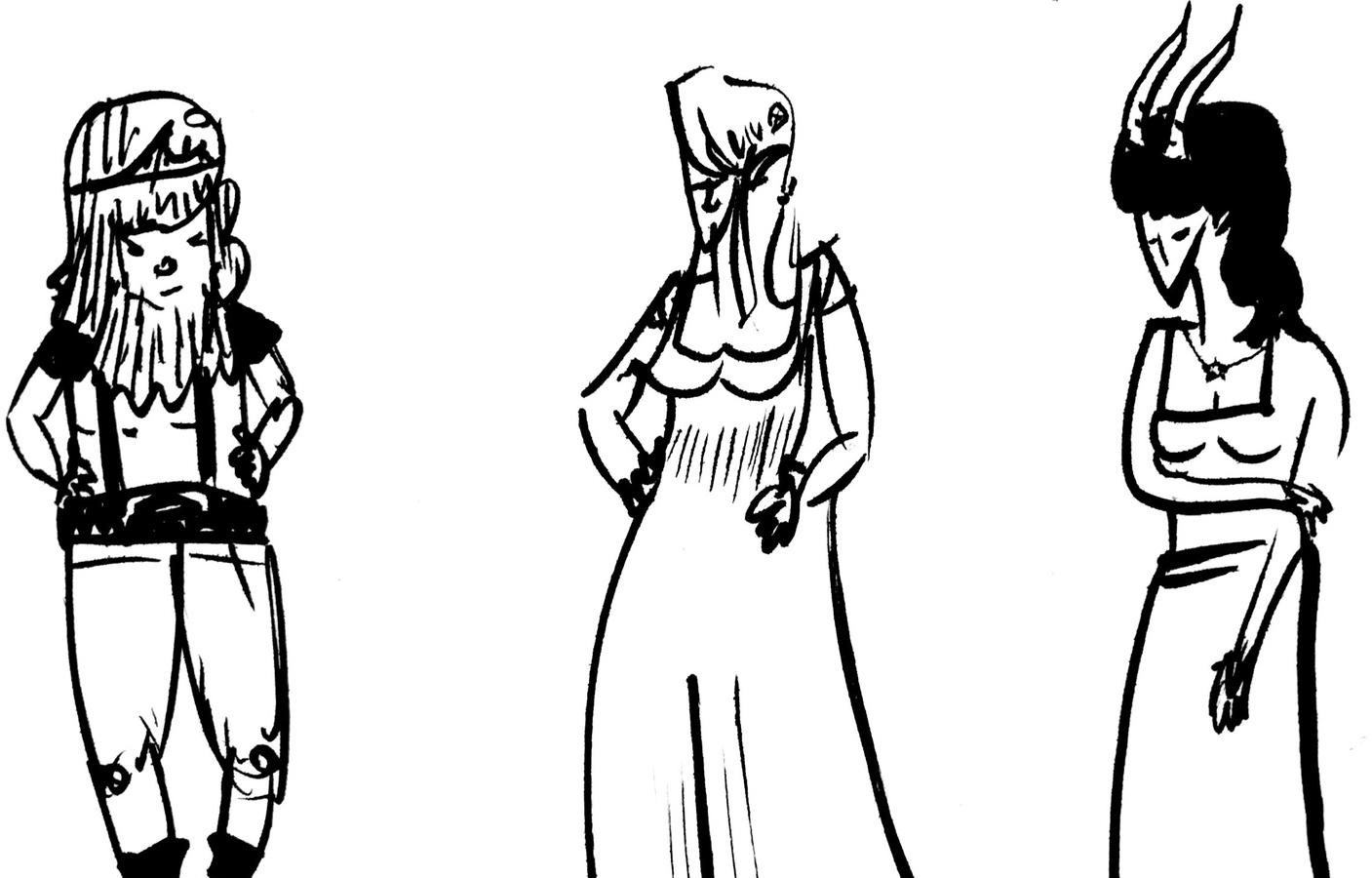 Drills, Enna, and Yara