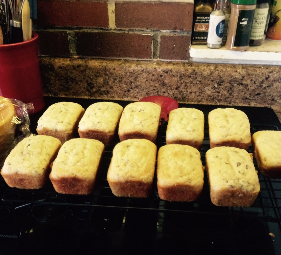 Mini Loaves. I imagine elves love food in tiny form.