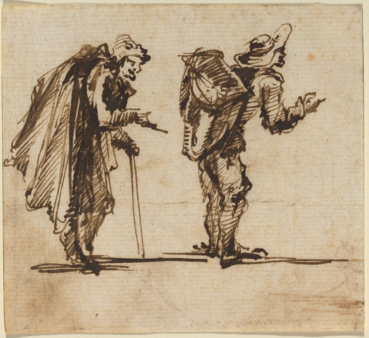 Giovanni Battista Piranesi - An Old Man with a Cape and a Rustic with a Backpack.jpg