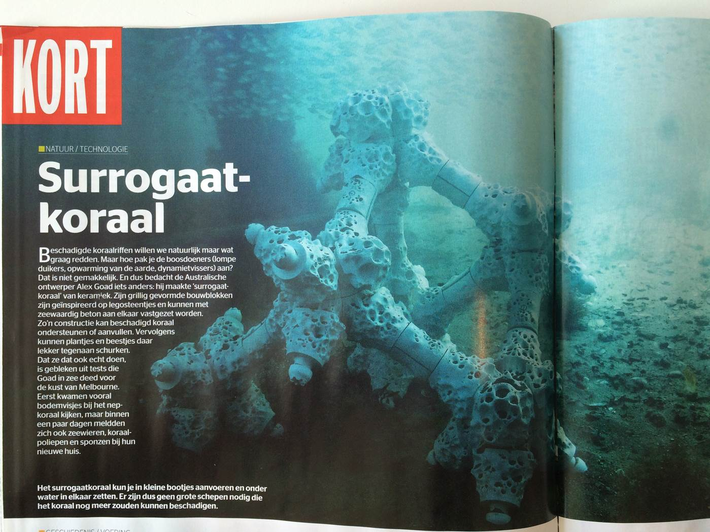 Printed in Quest Magazine - Holland