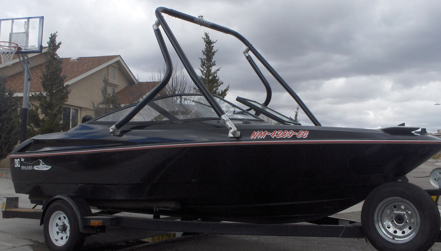 Wakeboard Tower on a 1994 Bayliner 1750