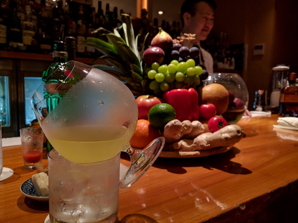 The inventive and original Bar Orchard in Ginza