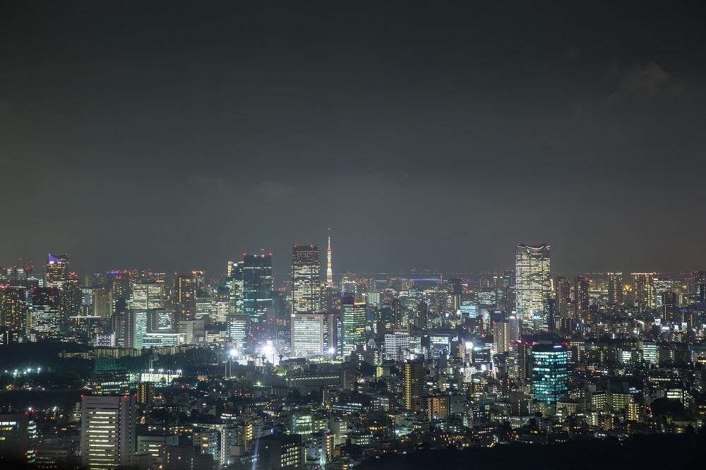 The Tokyo skyline from the Park Hyatt Tokyo