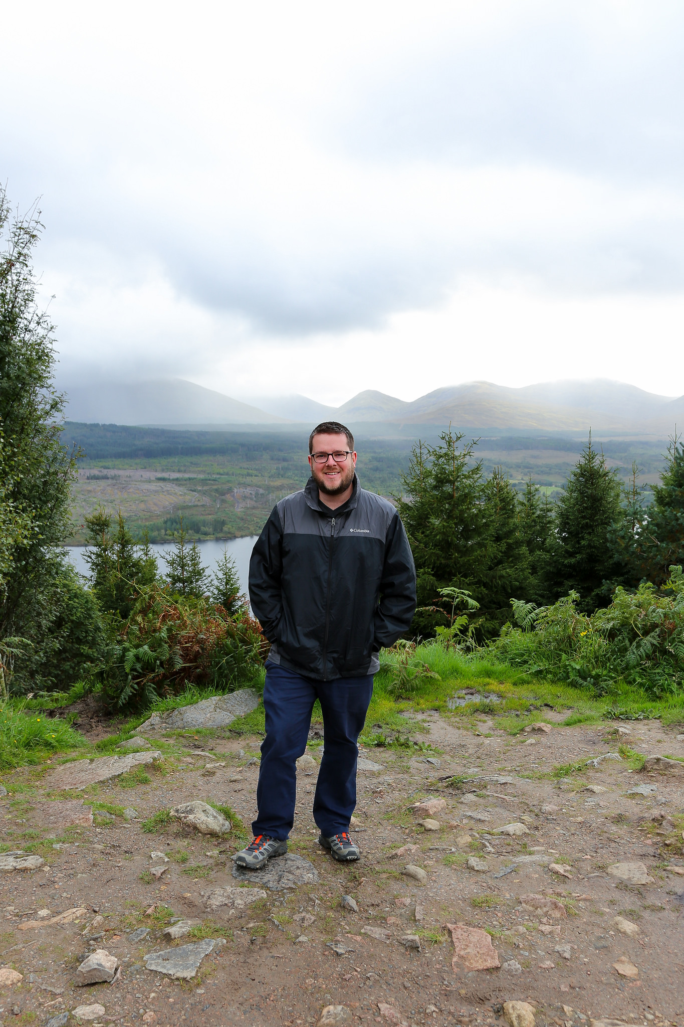 Me in the Scottish Highlands near Skye
