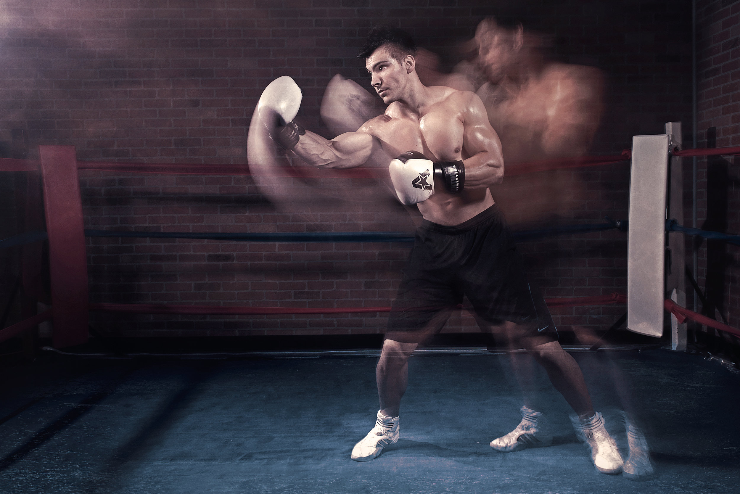 Stick and Move | Andrew Warner Photography | sports | fitness | boxing