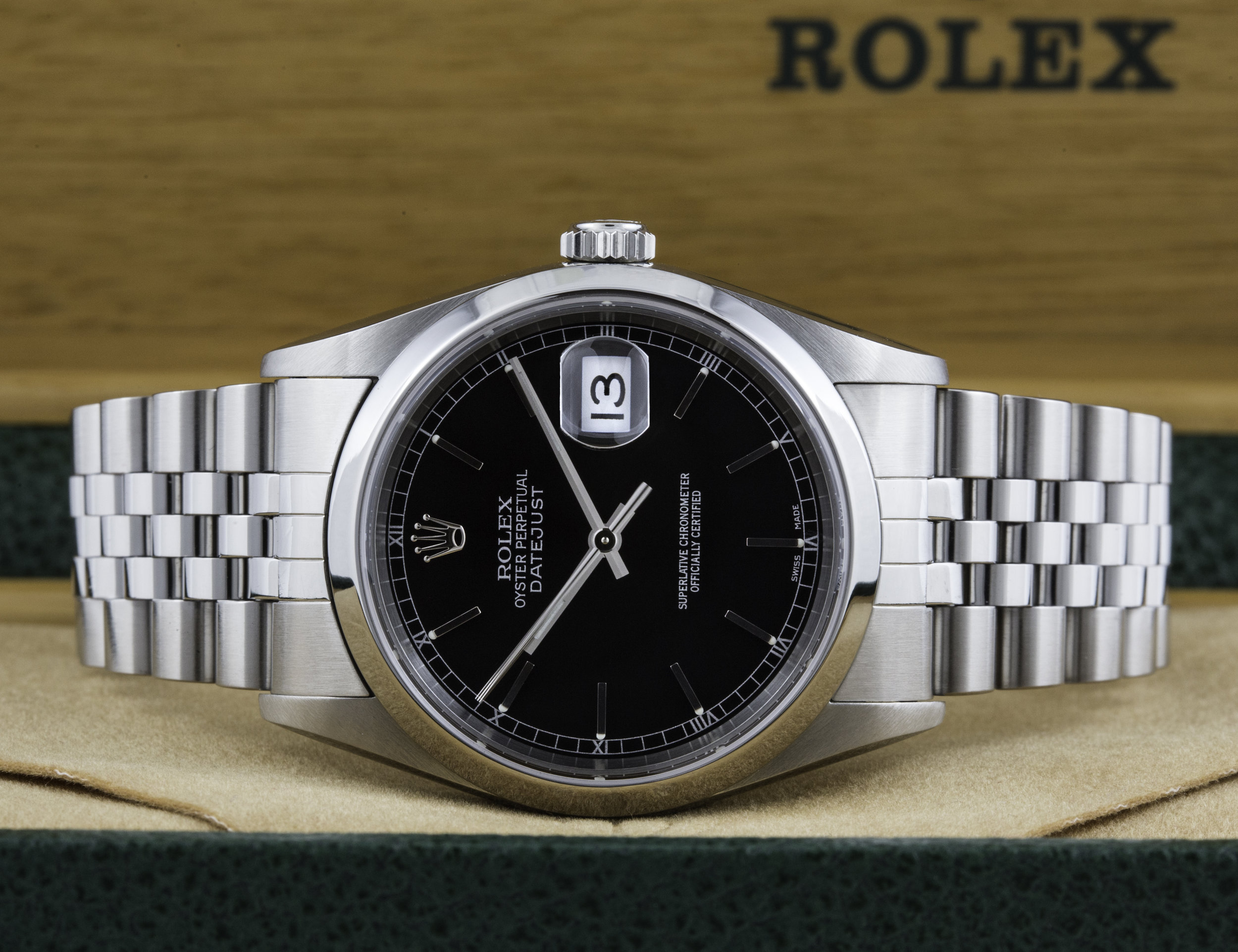 Rolex Datejust | Andrew Warner Photography | products