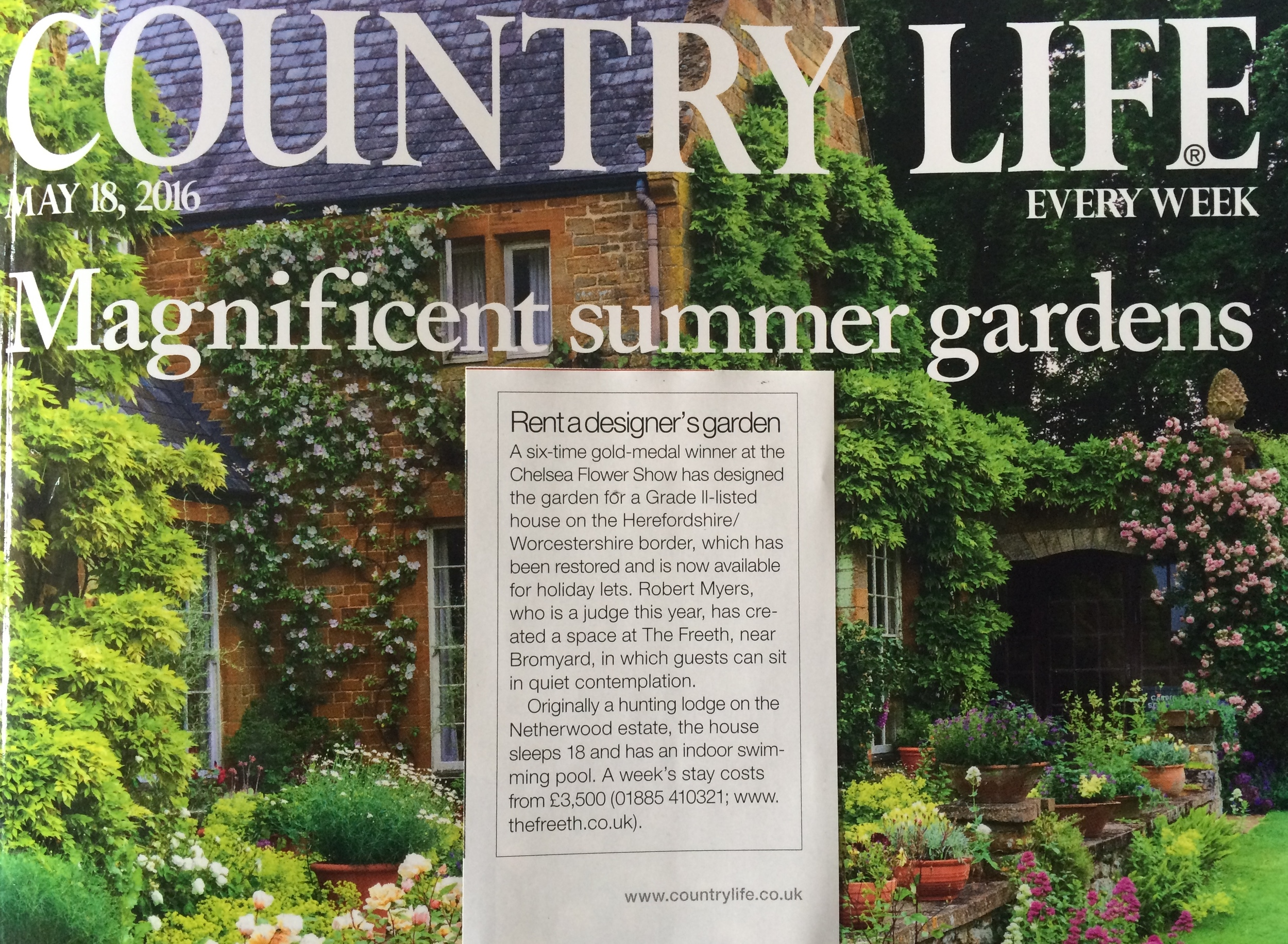 Country Life Magazine - 19 May 2016