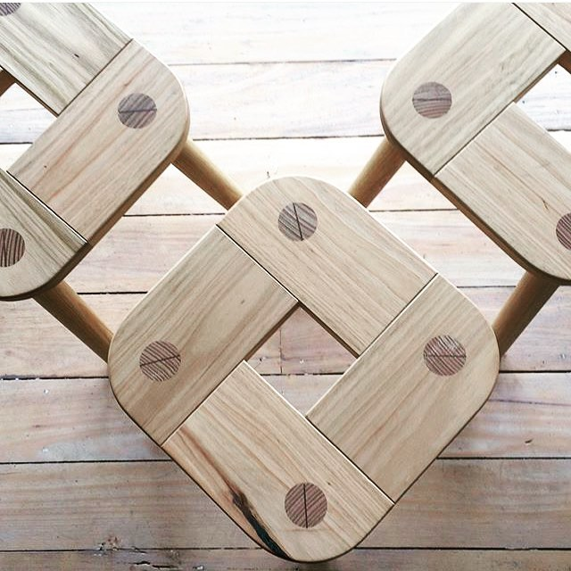SAUNA stool. The old KOHDE classic. See it, touch it @shop_furniture_lygon today and tomorrow.