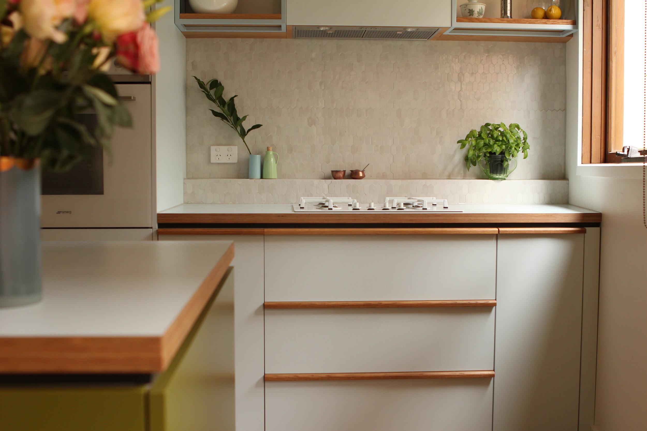 Kitchen handle detail
