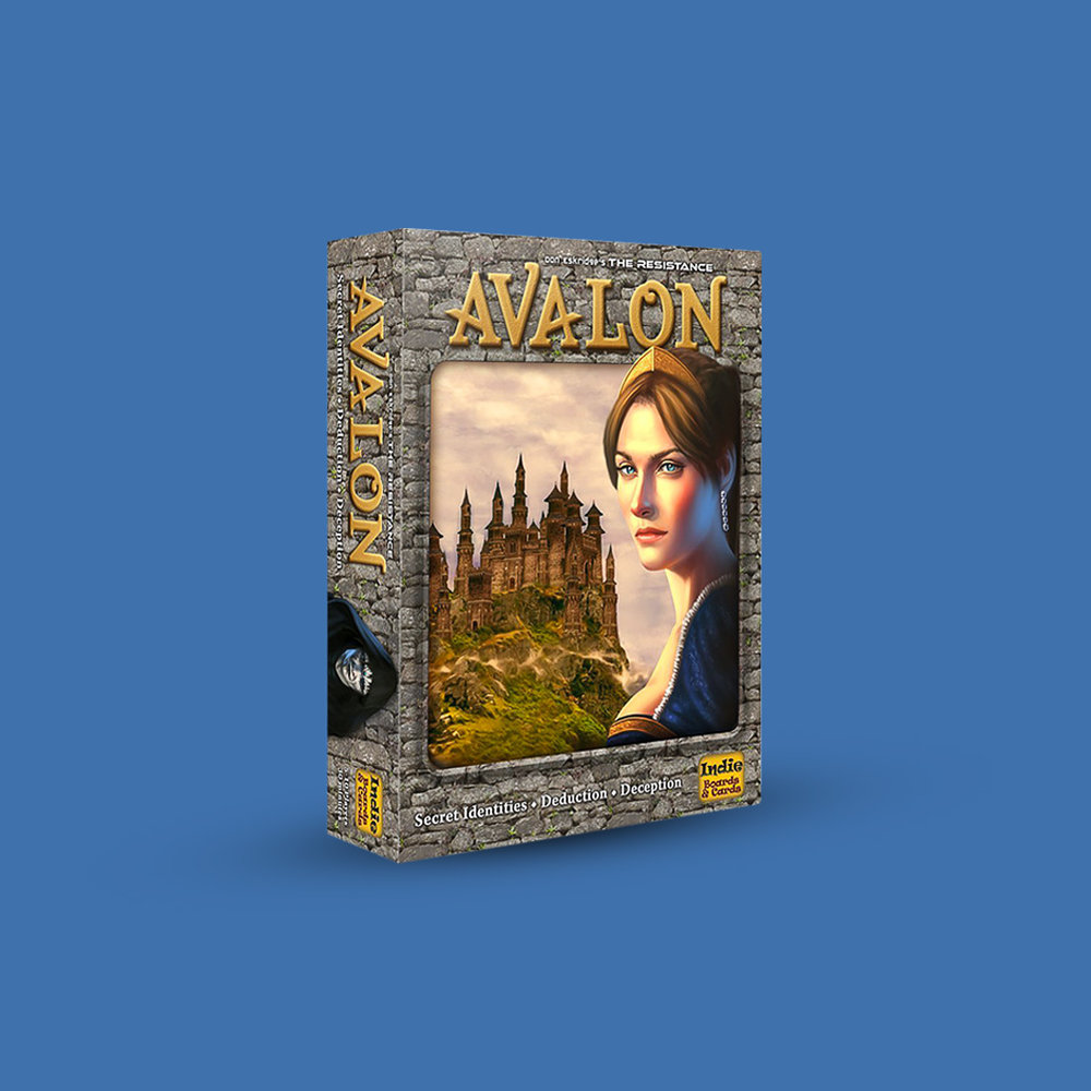 The Resistance Avalon Deduction Card Game