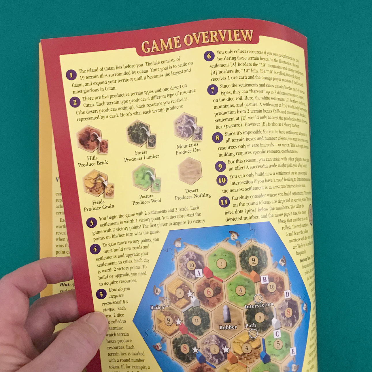 settlers of catan game overview