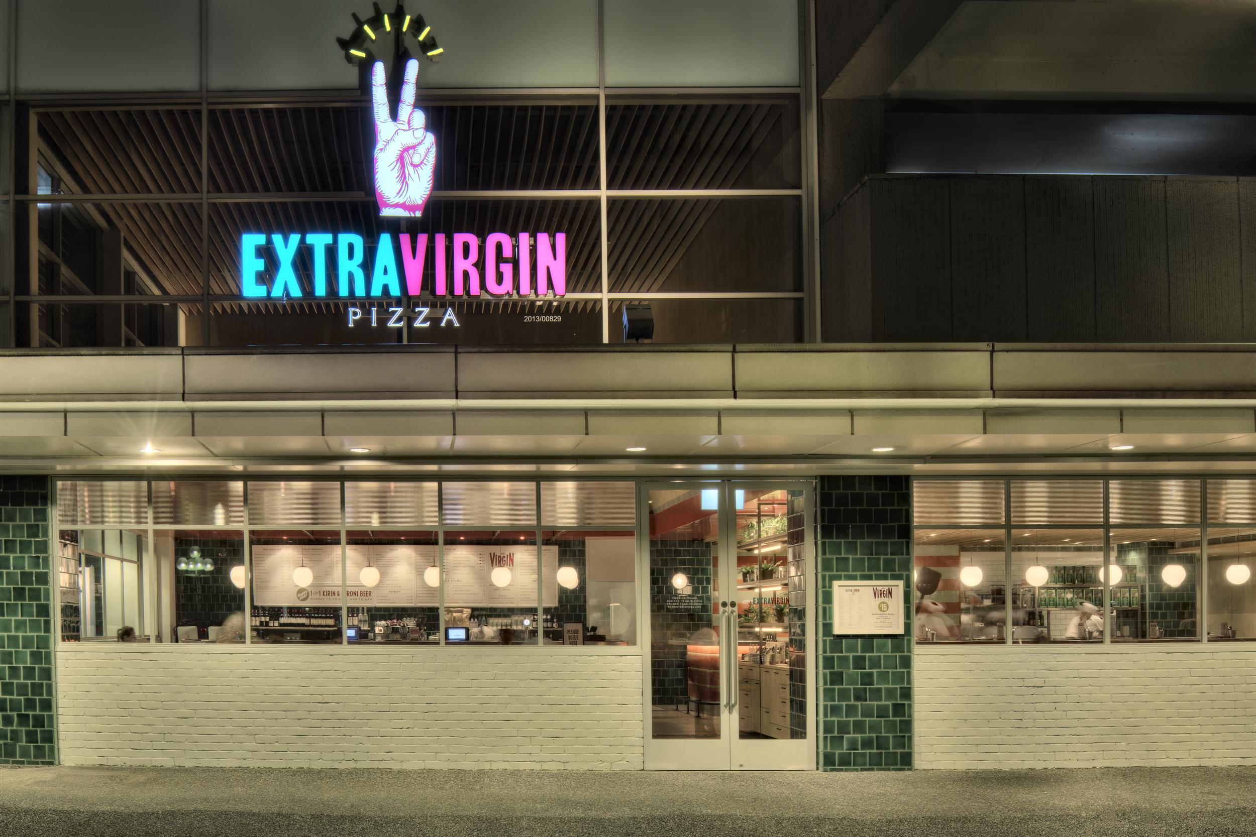 Extra Virgin Pizza @ United Square