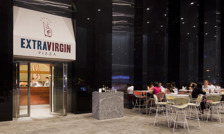 Extra Virgin Pizza @ Asia Square