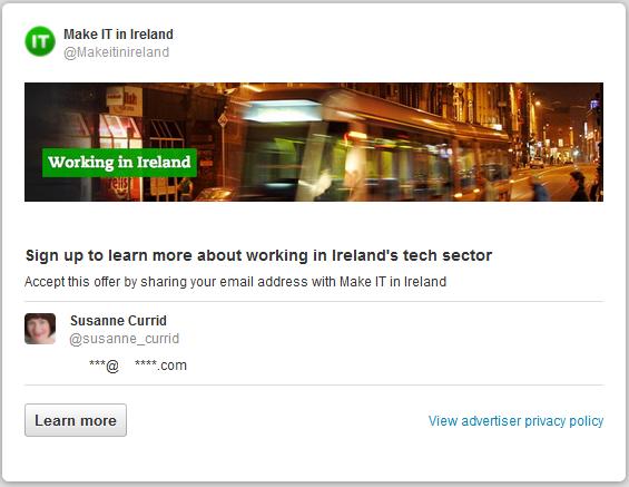 Working In IT in Ireland - Twitter Lead Generation Card.png