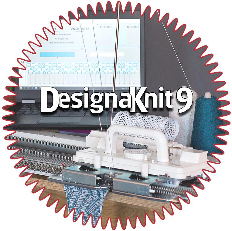 Ny utgave av DesignaKnit! - Flotte forbedringer og nye funksjoner