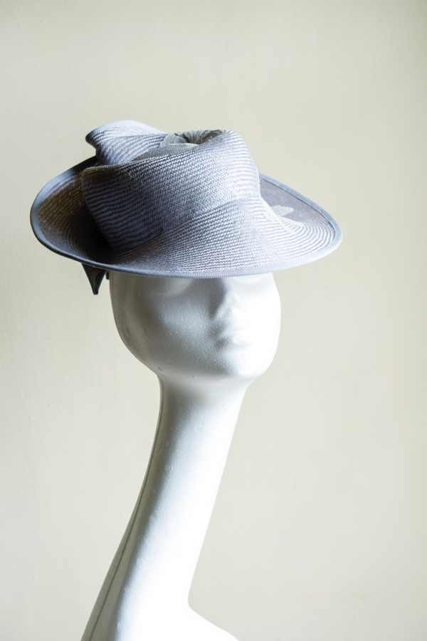 Silvery blue straw percher hat.png
