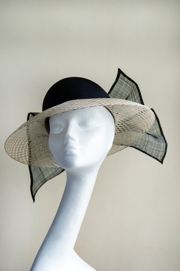 Classic picture hat with window pane brim.jpg