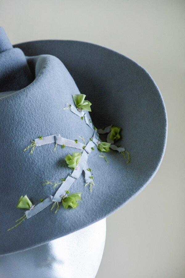 Peachbloom grey felt percher hat Copy.jpg