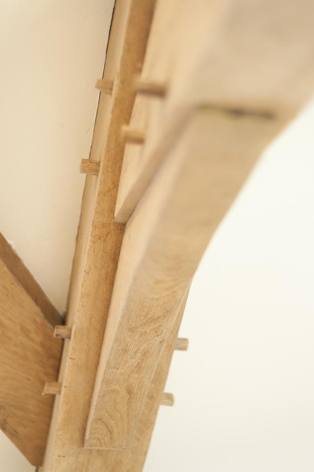 Oak Timber Frame Detail