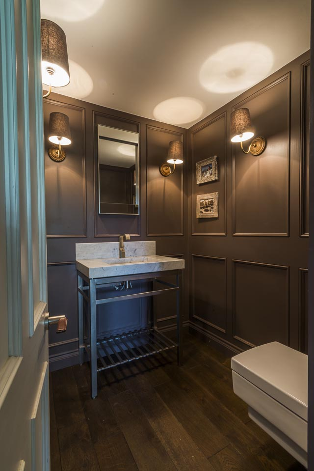 Bespoke Panelled Bathroom - www.jolliffdevelopments.com