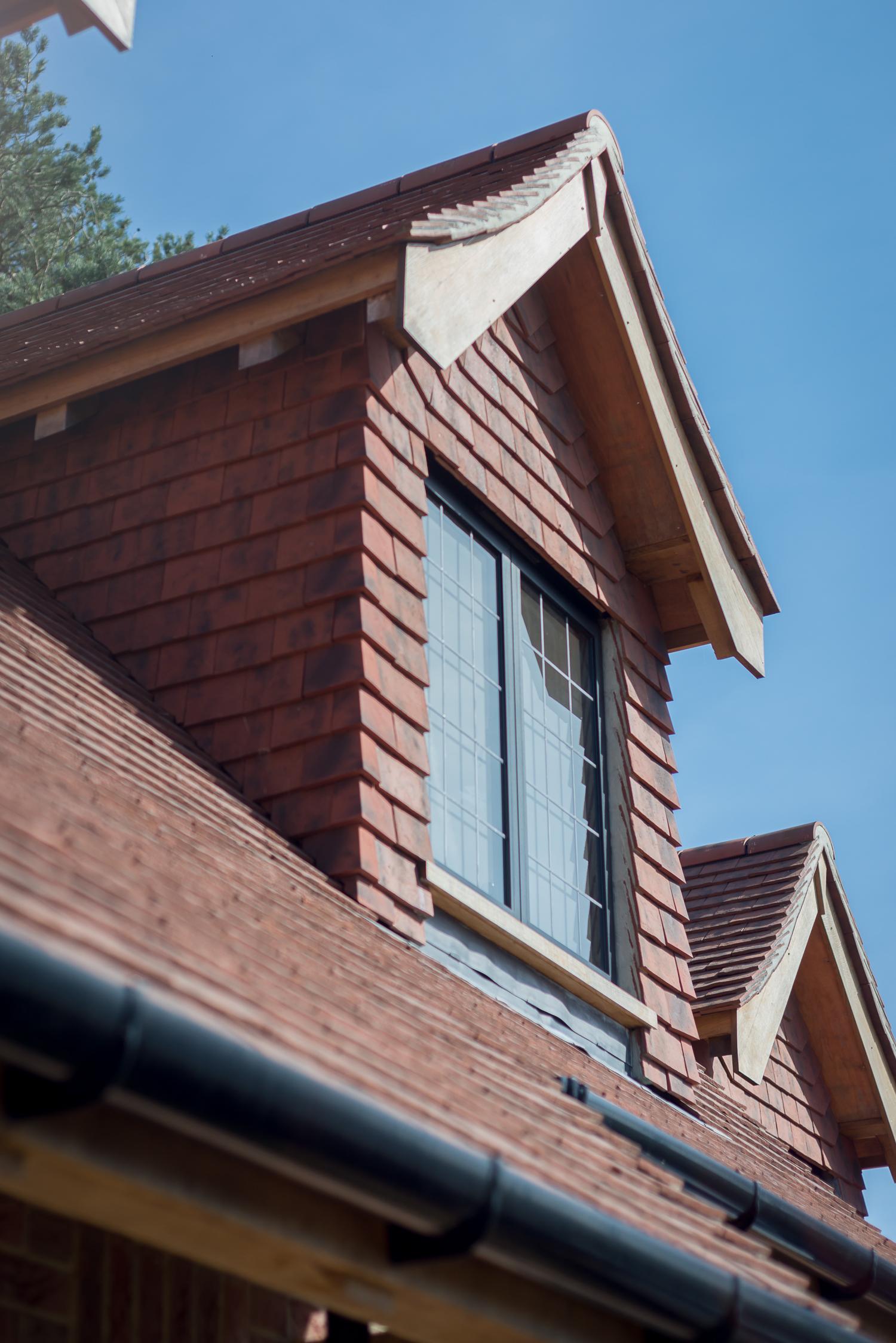 Tile Hung Dormer Window