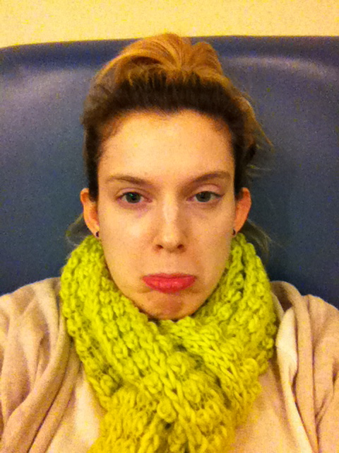 Me in the airport between flights. Typical.