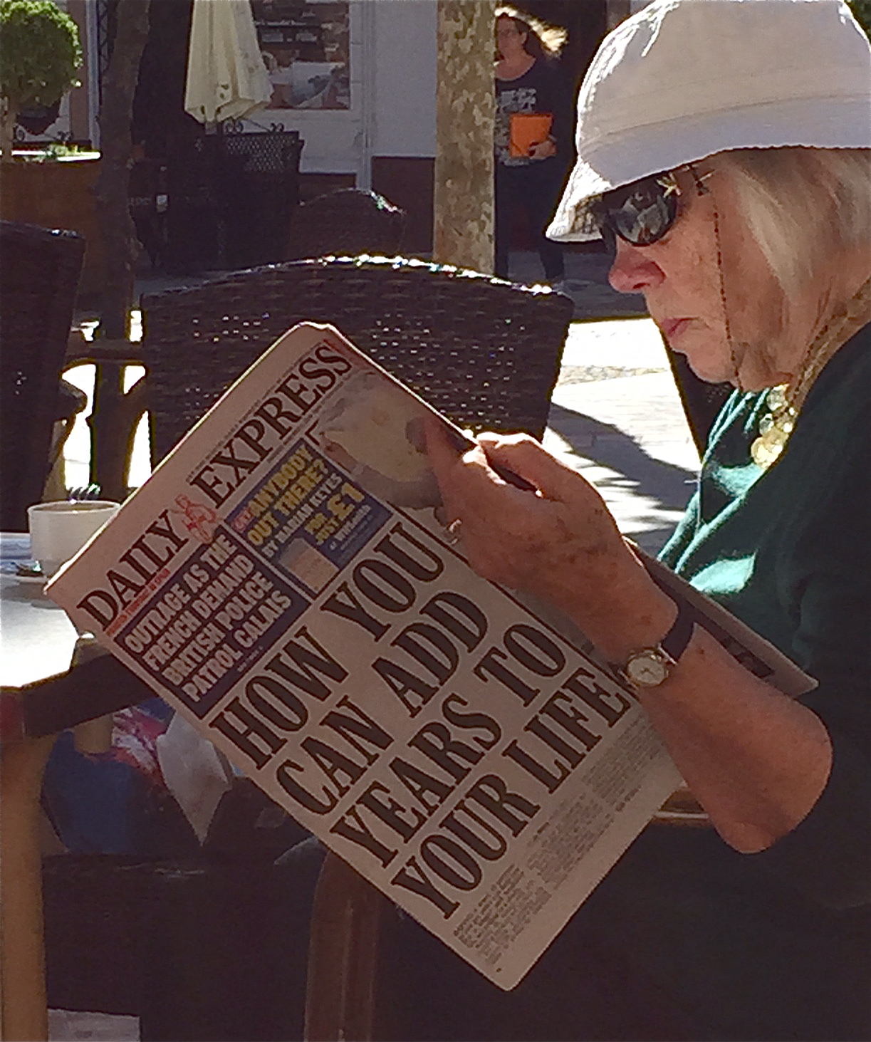 Daily Express med gode tips om korleis vi kan leva lenger!