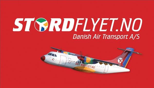 Eigen logo og eige fly.